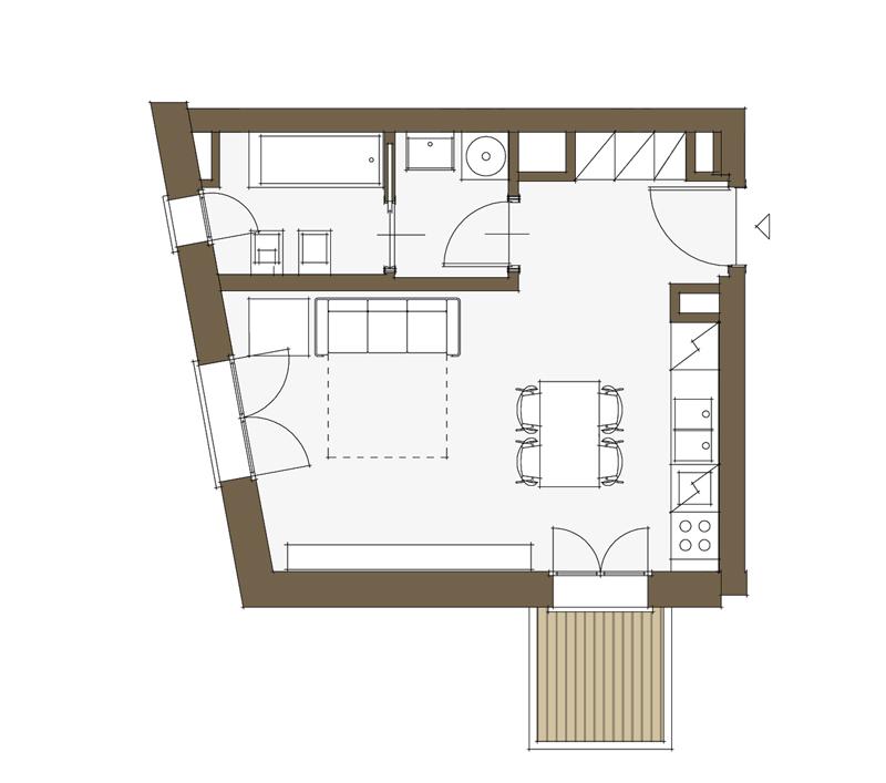 Progetto di appartamento minimo domotico per anziani for Disegnare progetti